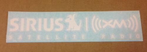 "Pair of SiriusXM Radio Logo Car Window Decals 11/"" x 2.5/"""
