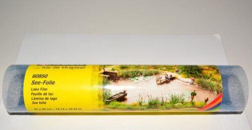 NOCH 60850 Seefolie blau 41 x 26 cm Gewässerfolie NEU /& OVP m²=56,92€