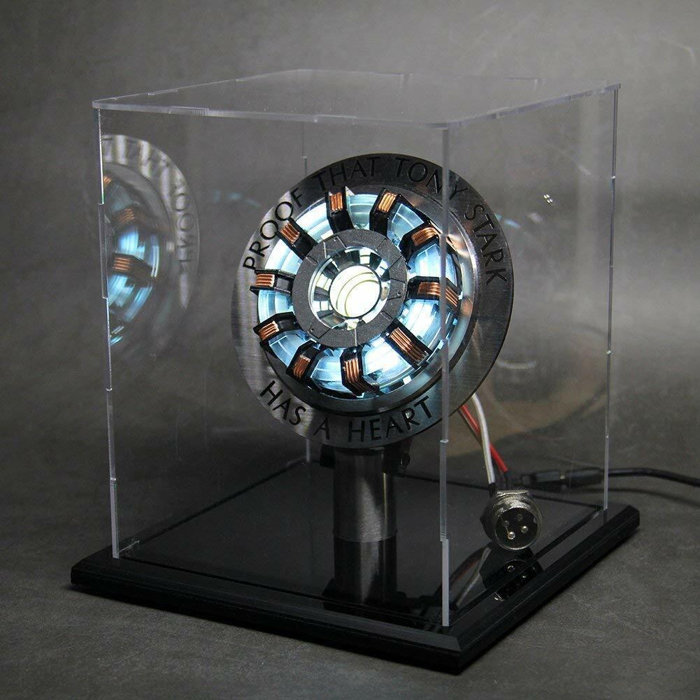 Iron Man arc reactor Mark 2 prueba de que Tony Estrellak ha Corazón LED producto terminado