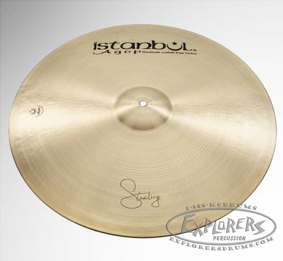 Istanbul Agop Signature 22'' Sterling Crash-Ride Cymbal - STRR22