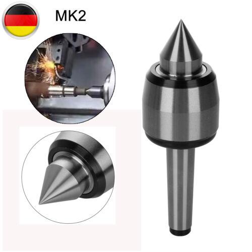 Mitlaufende Körnerspitze Morsekonus MK2 Drehmaschine Zentrierspitze Rollkörner