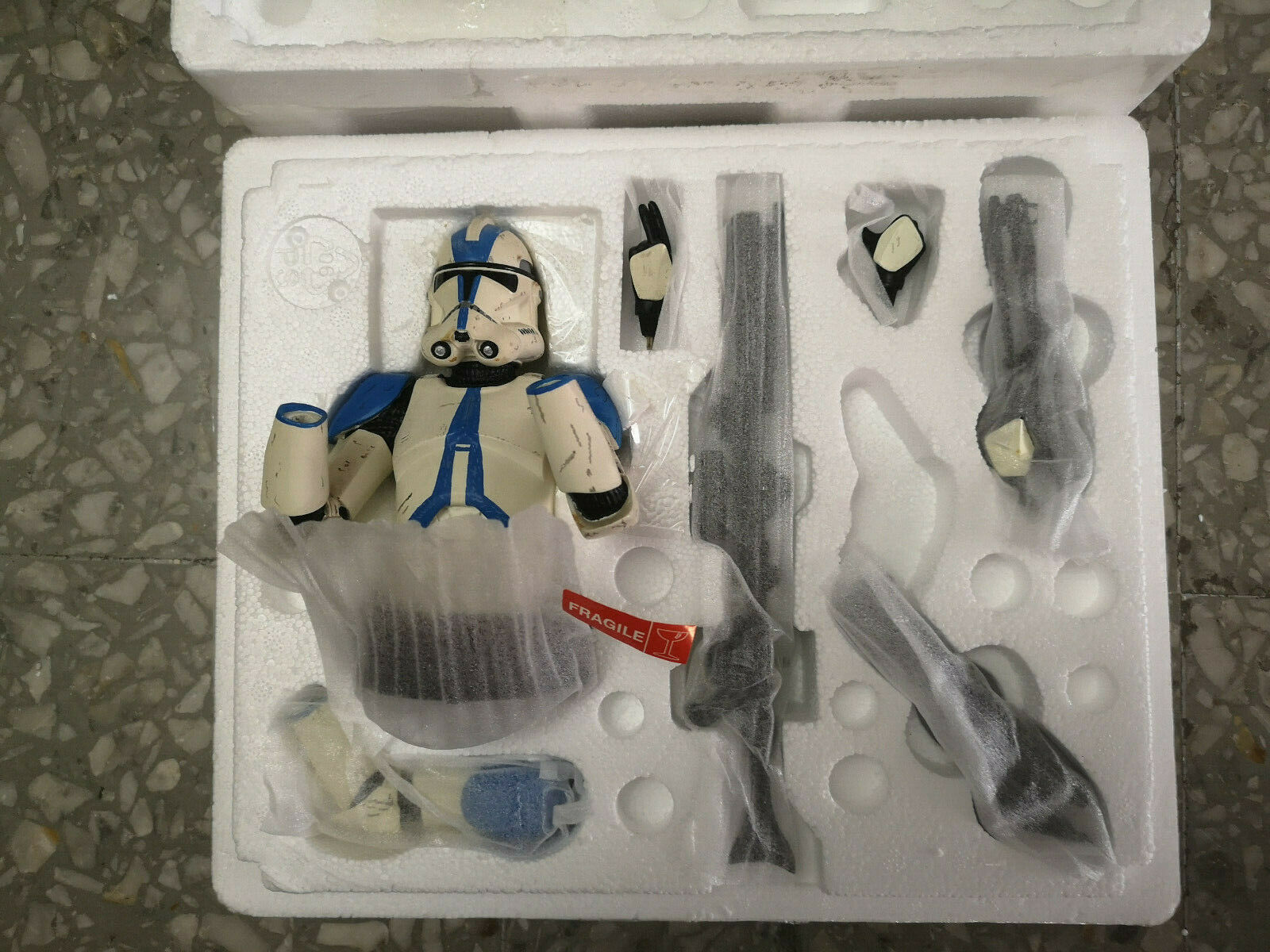 Gentle Giant Star Wars  Clone Trooper 501st Special Ops Trooper