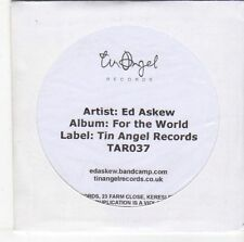 (EM518) Ed Askew, For The World - DJ CD
