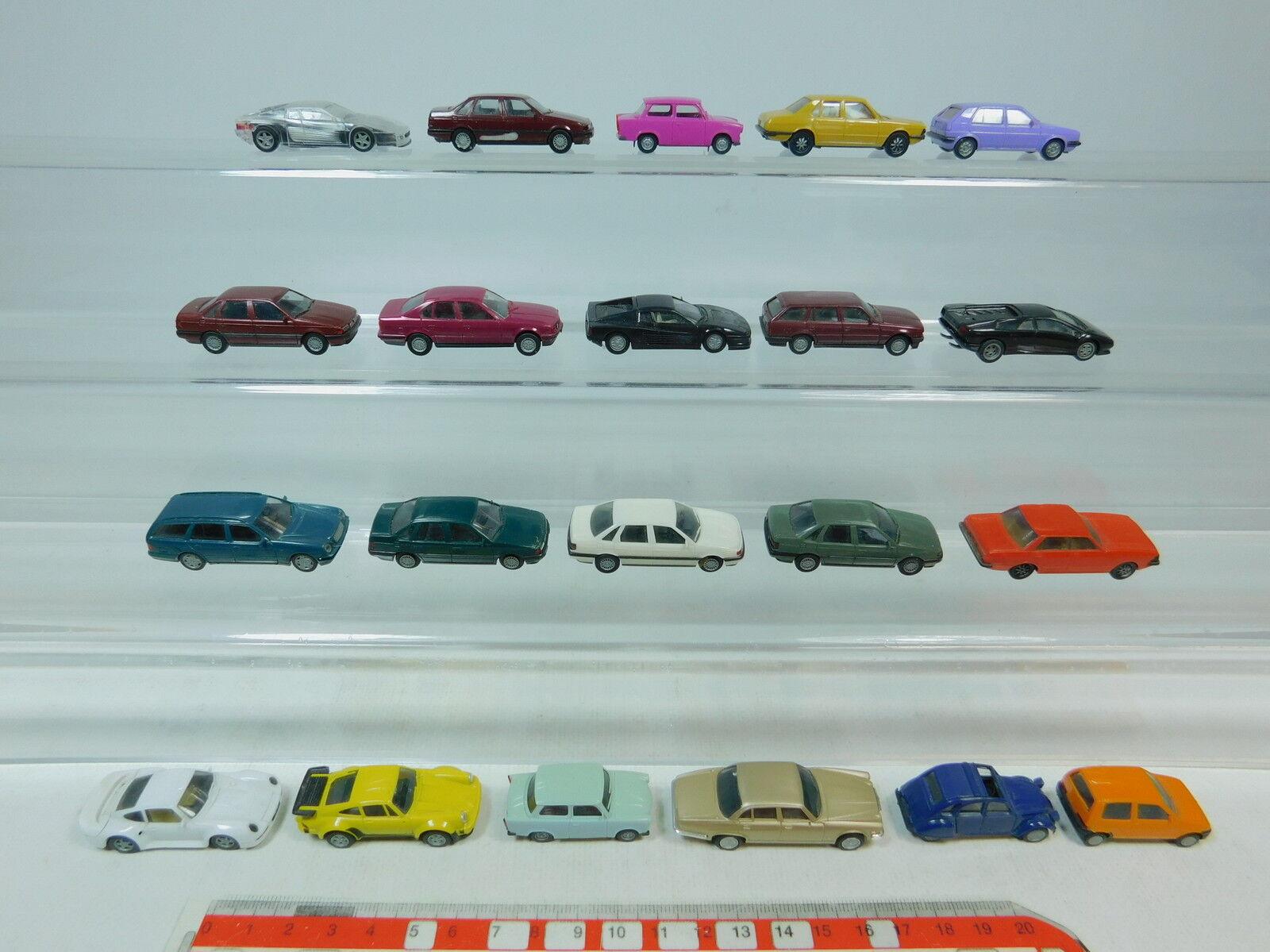 AU986-1 x Herpa H0 Bastler-Pkw  Porsche + BMW + Volkswagen   VW + Mercedes