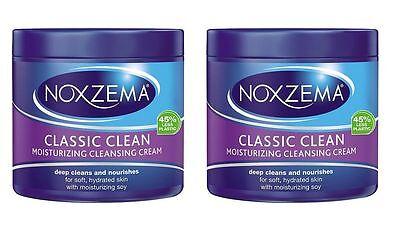 2 X Noxzema Deep Moisturizer Cleansing Cream 340g