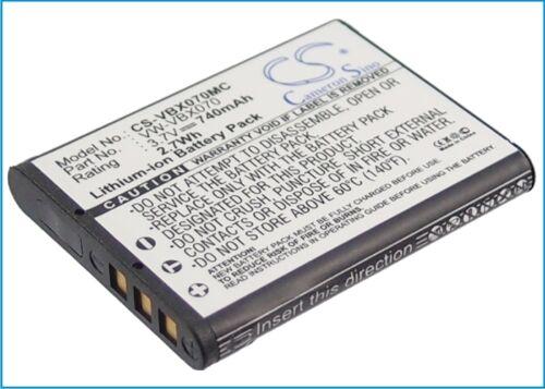 Li-ion Battery for Panasonic HX-DC2 HM-TA2 HX-DC1GK HX-DC2EG-H HX-DC1 HX-DC2EG-W