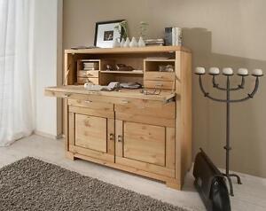 massivholz sekret r kiefer pc schreibtisch schreib schrank holz massiv gelaugt ebay. Black Bedroom Furniture Sets. Home Design Ideas