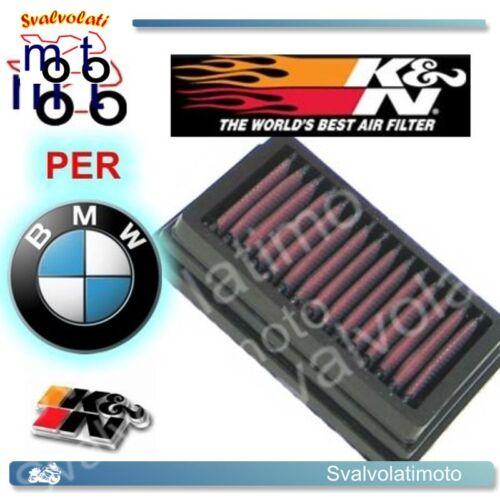 FILTRO ARIA SPORTIVO K/&N-KN-K N BMW GS 1200 R ADVENTURE 2009 BM-1204