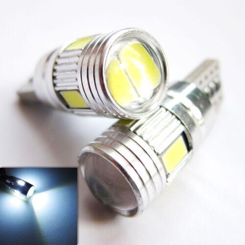 UK x2 T10 CANBUS W5W 501 6SMD BRIGHT CAR LED Light BULBs 12v White ERROR FREE UK