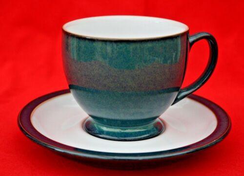 DENBY GREENWICH GREEN CUP  /&  SAUCER SET BEAUTIFUL CONDITION!