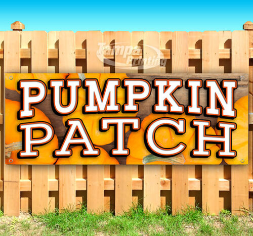 PUMPKIN PATCH Advertising Vinyl Banner Flag Sign Many Sizes FALL FESTIVAL