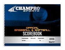 Champro 18 Position Baseball & Softball Scorebook A07