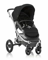 Britax Affinity Stroller System Silver Frame With Black Fabric Set
