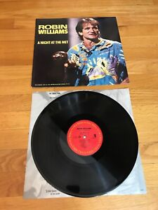 Robin-Williams-A-Night-At-The-Met-1986-Columbia-vinyl-mint-shape-comedy-LP