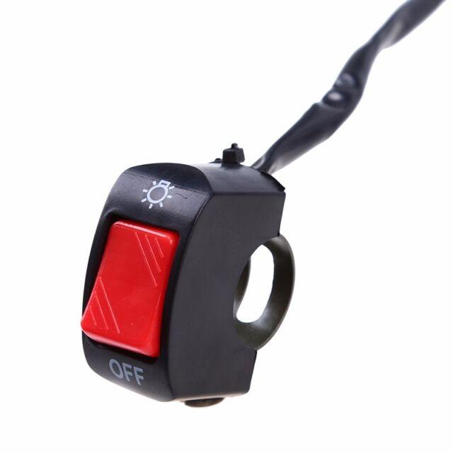 commutateur universel pour moto Scooter Dirt guidon avec un interrupteur