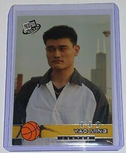 2002-Press-Pass-Yao-Ming-18-Rookie-Card-Shanghai-Sharks-Basketball-NBA-HOF-RC