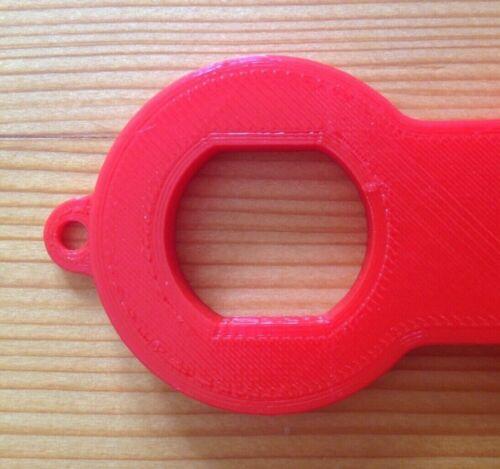 rot M28 M24 M22 Perlator-Schlüssel; Serviceschlüssel für Mischdüsen