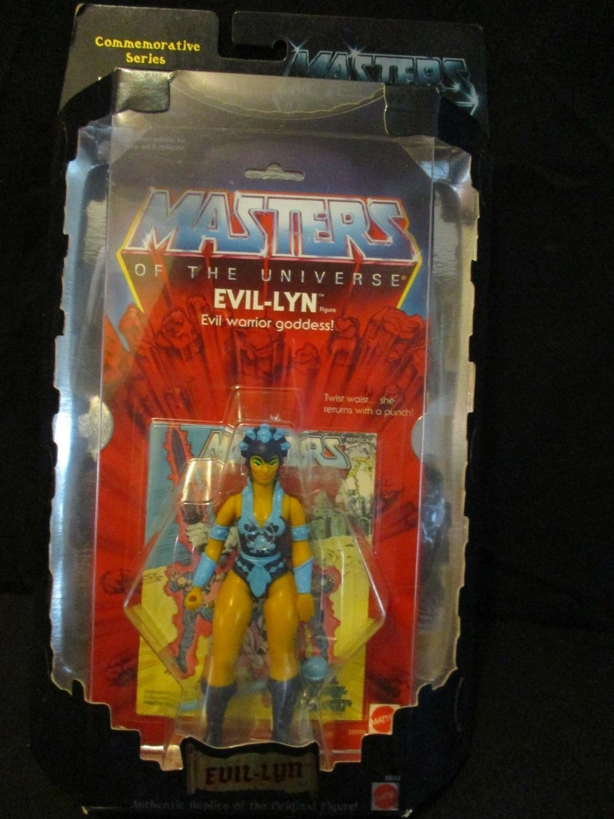 MASTERS OF THE THE THE UNIVERSE MOTU COMMEMORATIVE REISSUE EVIL-LYN FIGURE 2000 943dac