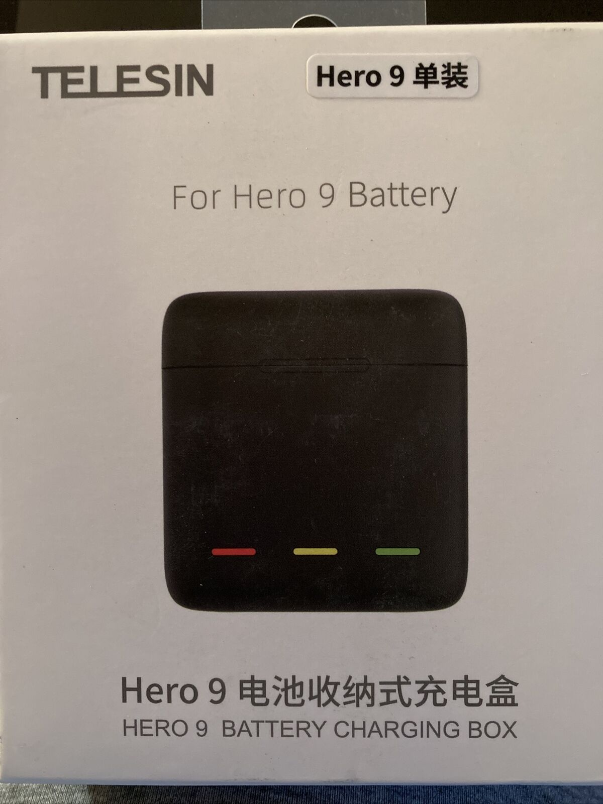 Telesin Battery Storage Charging Box Fits Gopro Hero9 (Battery Not Included) UK~