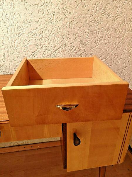 Alte Urige Schublade Mit Griff ,schubkasten Mit Griff Holzkasten 36x34,5x13,5cm Fein Verarbeitet