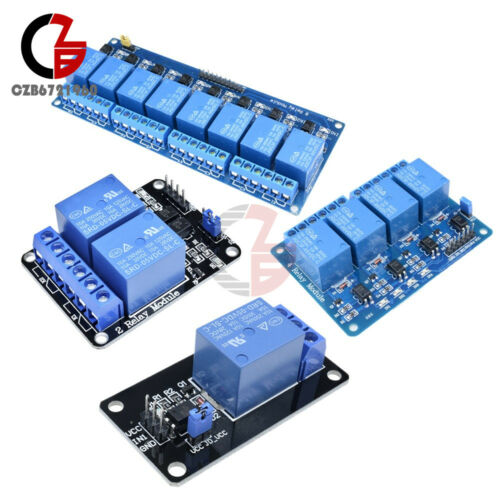 5V 1//2//4//8 CH Relay Board Module Optocoupler LED for Arduino PiC ARM AVRC