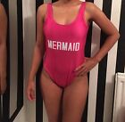 Mermaid Pink Adult Swimwear Size 8-14 Private Party Style