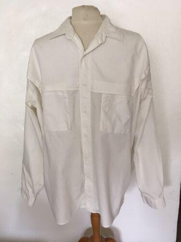 Men's Collectif Off White Button Down Shirt Sz XL