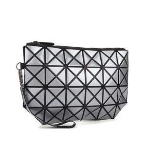 NEW Fashion Geometric Design Bao Bao Sliver Cosmetic Bags Makeup Bag ... cb7ae61b7af16