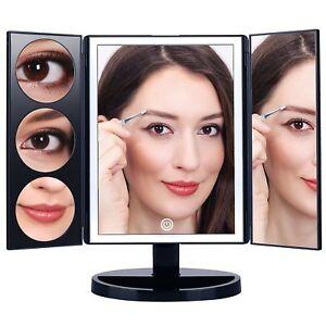 Makartt Cosmetic Lighted Mirror 3x 5x 10x Xlarge