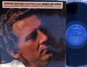 Jerry Lee Lewis ORIG OZ LP Boogie woogie country man VG+ '75 Mercury Rock N roll