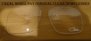 5224ca3ce04b Image is loading Cazal-643-Original-Eyeglasses-Clear-Replacement-Lenses -55mm-