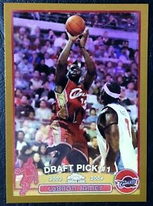 Details About 2003 04 Topps Chrome 111 Lebron James Rookie Reprint 3 Card Lot 1 Each
