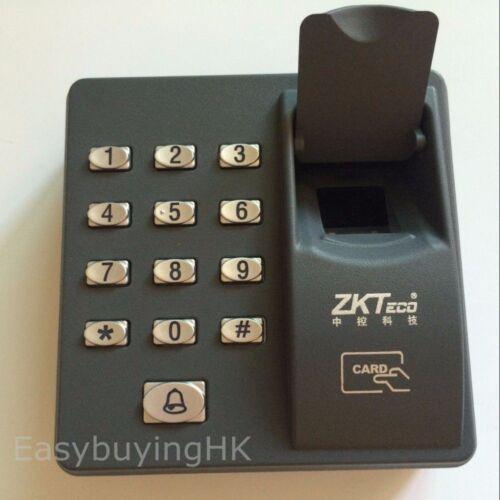 ZKTeco Fingerprint+RFID Card Access Control Keypad Password Keypad+10 RFID fobs