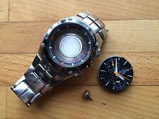 Seiko Sportura Chronograph Watch Spares Repair A/f Wristwatch Bracelet Strap