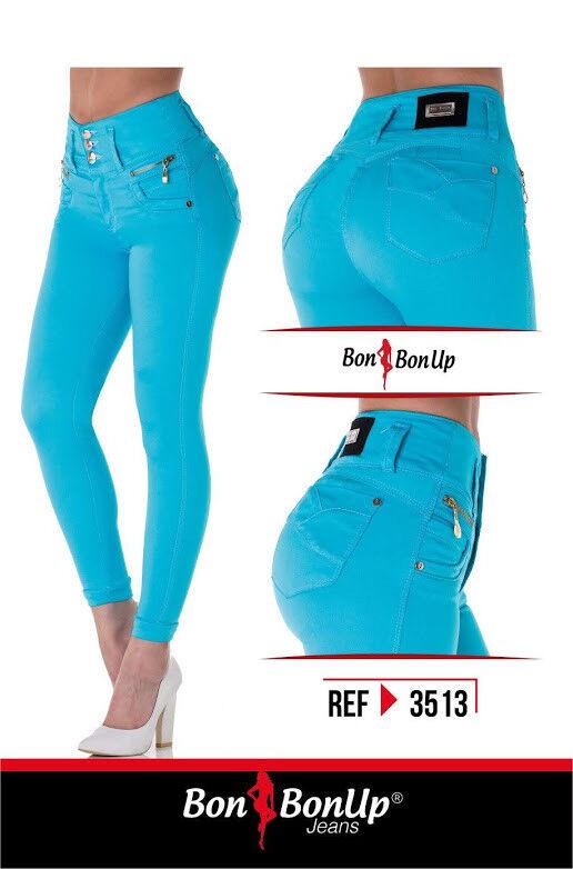 Jeans colombianos butt lifter fajas colombianas levanta cola Bon Bon Up 3513