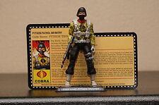 gi joe con convention exclusive Mission Brazil Python Patrol trooper rare