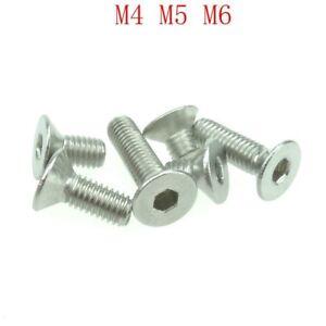 20pcs-304-Stainless-Steel-Allen-Hex-Socket-Countersunk-Flat-Head-Screws-DIN7991
