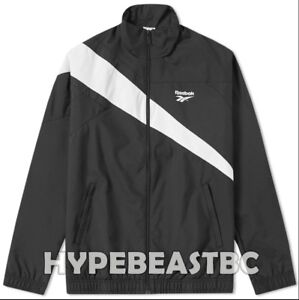 8ab1089da56ee Reebok Classics Vector Track Jacket 90s Mens Top Suits Size Large ...