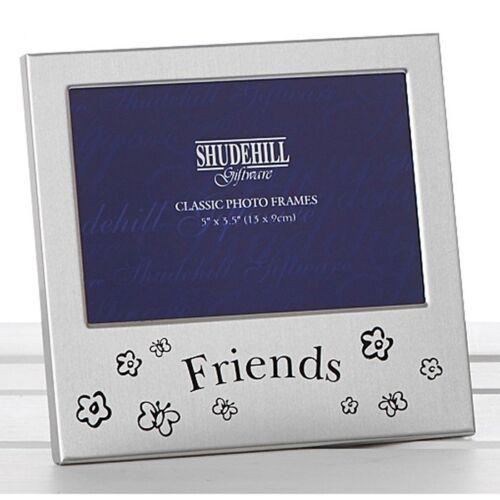 Amis Satin Argent Cadre Photo 5x3.5 de mariage cadeau pour amis famille Shudehill