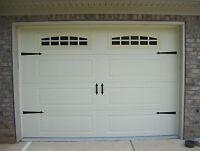 Deluxe Garage Door Decorative Hardware Kit - Hinges & Handles - Includes Screws