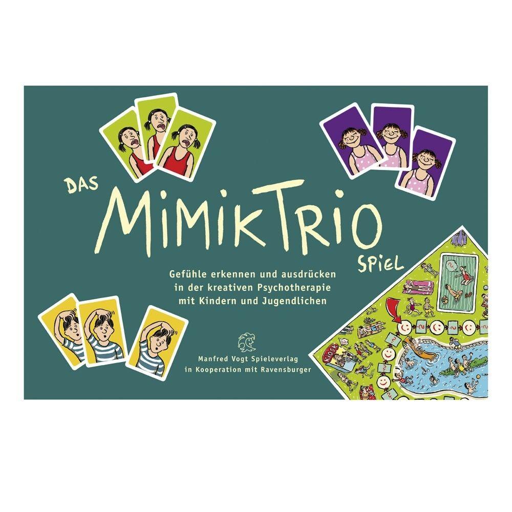 Das MIMIKTRIO Spiel Gefühle erkennen erkennen erkennen & ausdrücken Beratung & Therapie (82024) 6fee27