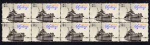 WWII-AUSTRALIAN-HMAS-SYDNEY-STRIP-OF-10-MINT-VIGNETTE-STAMPS-5