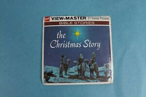VINTAGE VIEW-MASTER 3D REEL PACKET B383 THE CHRISTMAS STORY COMPLETE