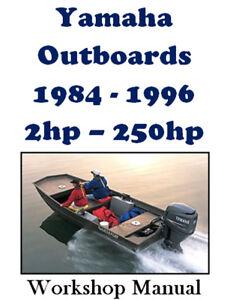 johnson evinrude outboard 225hp v6 workshop repair manual download 1986 1991