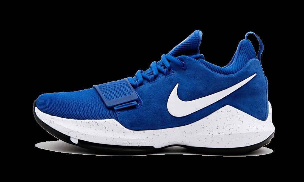 bb19706efc48 Nike PG 1 Basketball Shoes Mens 10 Game Royal White 878627 400 for sale  online