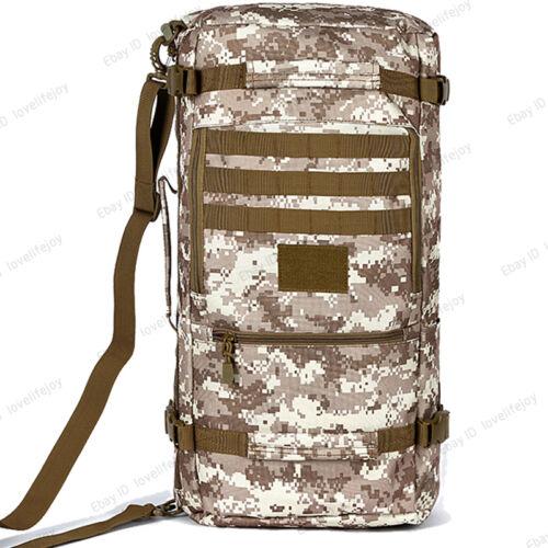 40-60L Backpack Tactical Travel Bag Hand Luggage Shoulder Bag Daypack Schoolbag