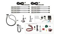 Motorcycle Led Light Kit, 90 Multi-color Leds, Change Colors W/ Remote, The Best