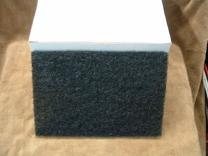 """Details about  /CASE OF 30 AMERICO #91 BLACK HEAVY DUTY NYLON SCOURING PADS 1//4/"""" X 6/"""" X 9/"""" USA"""