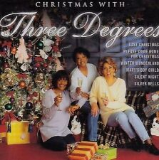 THREE DEGREES - Christmas With - CD Album NEU When a Child Is Born - Sleighride