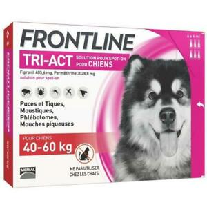 FRONTLINE TRI-ACT 40-60kg - 6 pipettes
